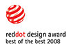 reddot design award 2008 - best of the best