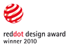 reddot design award - winner 2010